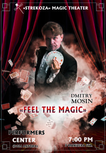 "Magic theatre ""Strekoza"".  ""Feel the Magic"" (In English)"