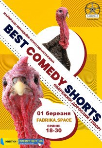 """BEST BLACK COMEDY SHORTS"""
