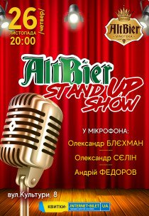 AltBier Stand Up show